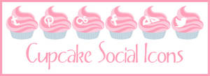 Cupcake Social Icons