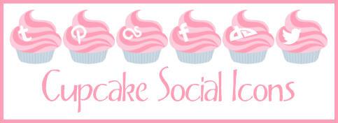 Cupcake Social Icons by Odyrah