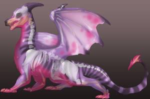 Free Use: Goo Dragon Lines by SkulldogAdopts
