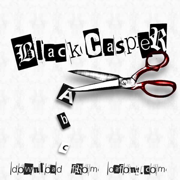 BlackCasper Font