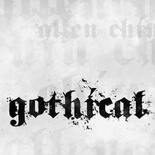 Gothical Font