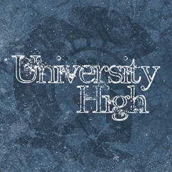 University High Font
