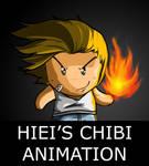 Hiei's Chibi Animation by caiojhonson