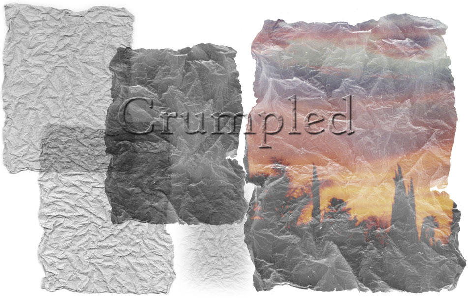 Crumpled Brushes by sandsoftime