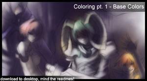 Tutorial pt 2 - base colors by shirotsuki