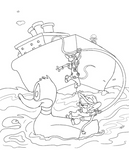Coloring Page: Pinky 'n the Brain Recover Rodents