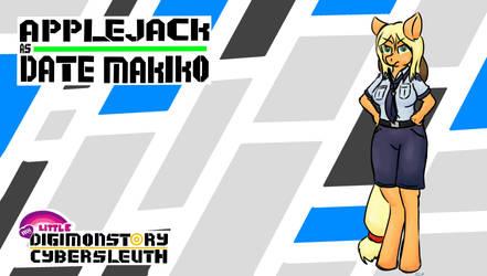 Applejack as Date Makiko