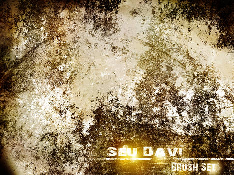 Seu Davi Grunge-Rust Brush