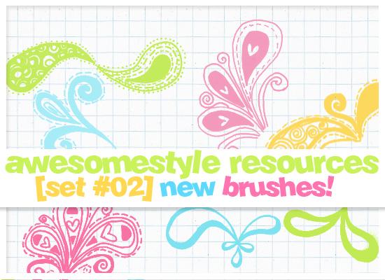 brushes set 02