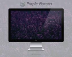 Purple Flowers by FenGenzus