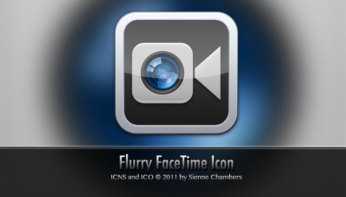 Black Facetime Icon