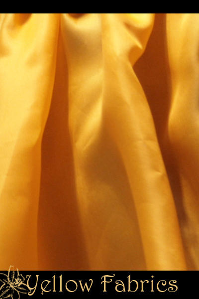 Yellow fabrics by 10grams-stock