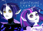 Starry eyed creator