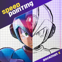 Rockman X Cover / Speed painting