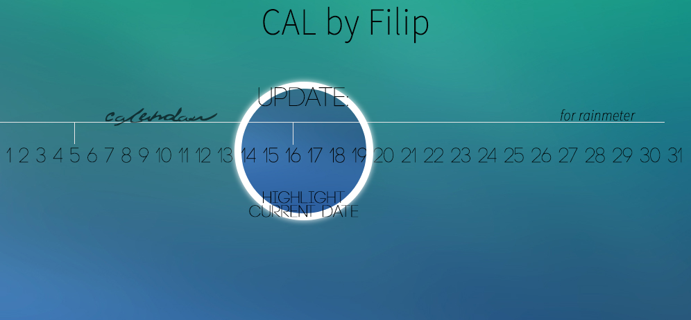 CAL for Rainmeter - Version 1.1