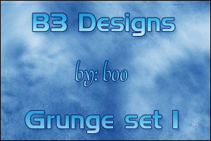 B3 Designs Gunge Set 1 by Boo3