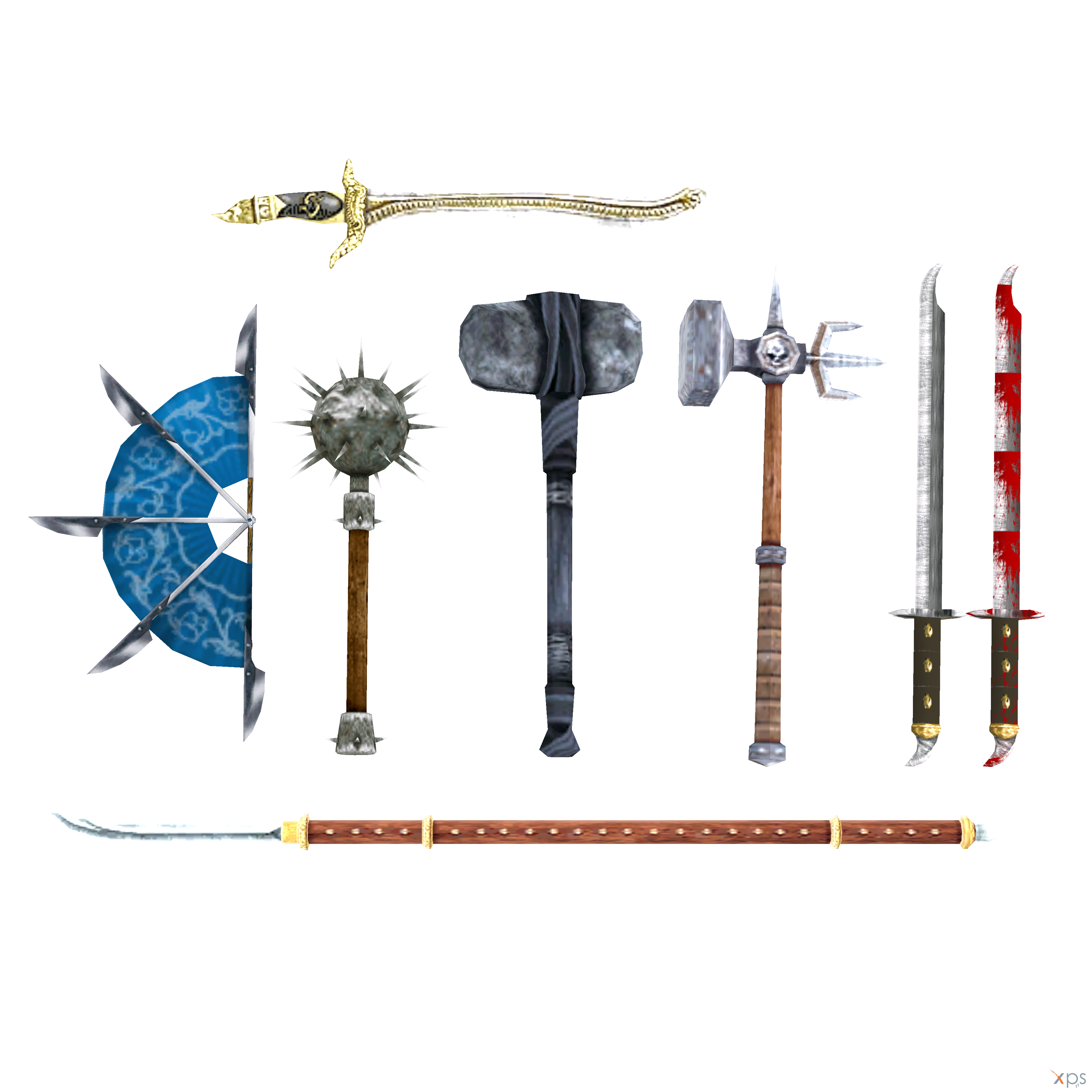 MKA Weapons Pack 2 By ExoticbunnyXD351 On DeviantArt