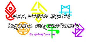 VIXX Voodoo Symbol Brushes by robertlovesme