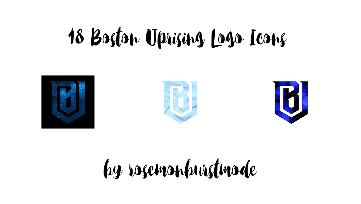 18 Boston Uprising Icons by rosemonburstmode