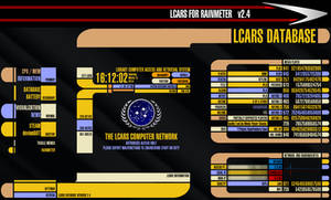 LCARS for Rainmeter VERSION 2.4 (March 15 2014)