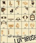 Art Deco Brushes - Pack