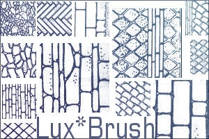 Wall Texture - Brushes by luxbella
