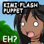 Kimi Flash Puppet