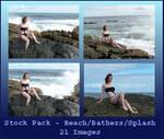 Stock Pack - Beach Bathers