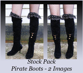 Stock Pack - Pirate Boots