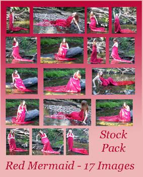 Stock Pack - Red Mermaid