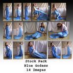 Stock Pack - Blue Goddess