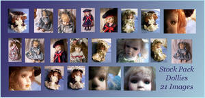 Old Stock Pack - Dolls