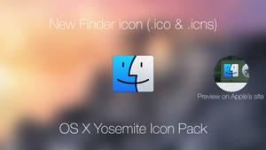OS X Yosemite New Finder Icon