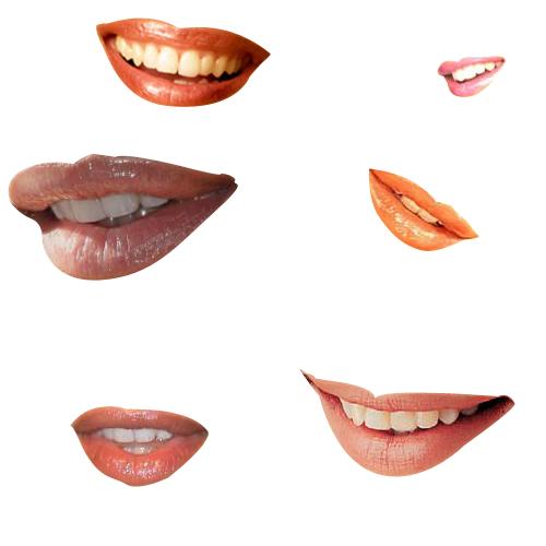 Smily Lips Brushes - Photoshop by photoshopweb