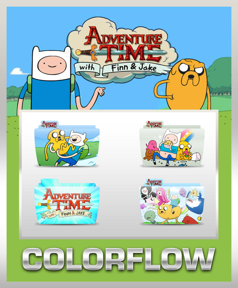 Colorflow AdventureTime Folder by TMacAG