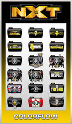 NXT TakeOver v1 Colorflow Folders by TMacAG