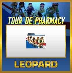 Leopard Tour de Pharmacy Folder