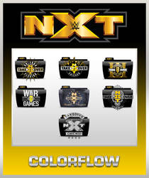 NXT TakeOver v2 Colorflow Folders by TMacAG