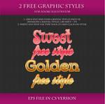 FREE Graphic Styles for Adobe Illustrator #3
