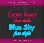 FREE Styles for Adobe Illustrator #8