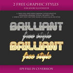 FREE Brilliant Styles for Adobe Illustrator #9