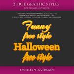 FREE Graphic Styles for Adobe Illustrator #17
