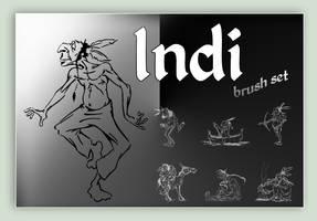 Indi (brush set)