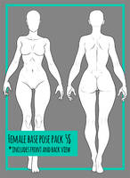 Female Base Pose Pack #2 [5 USD] by DeathBiscuitt