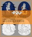halloween chibi base P2U [7 USD]
