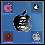 Apple Logos 2007 - Icons