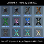 Leopard X - Icons