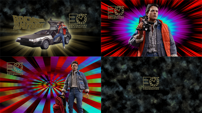 Back to the future 30th Anniversary | Wallpapers