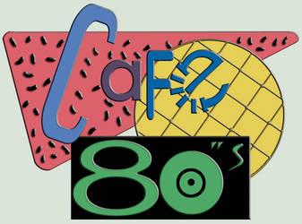 CaFe 80s - BTTF Logo by iFab