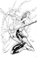Spider-man and Friends by Steele67